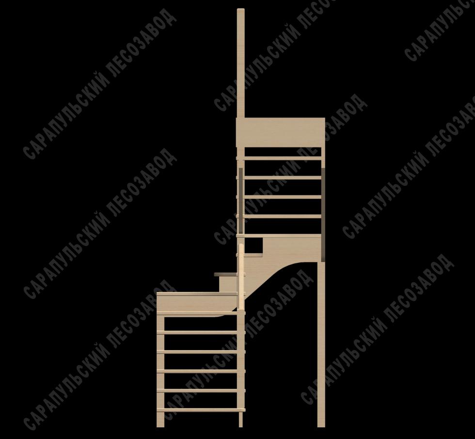 Лестницы и перила для дома купить недорого в ОБИ