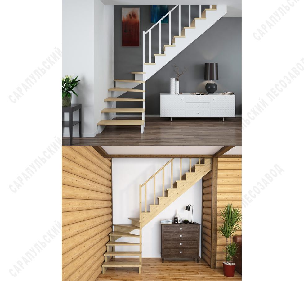 Купить деревянные балясины и столбы разных размеров для